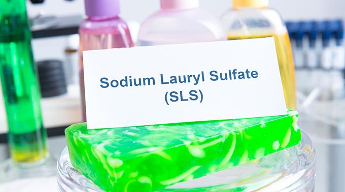 Inhaltsstoff in Kosmetika SLS